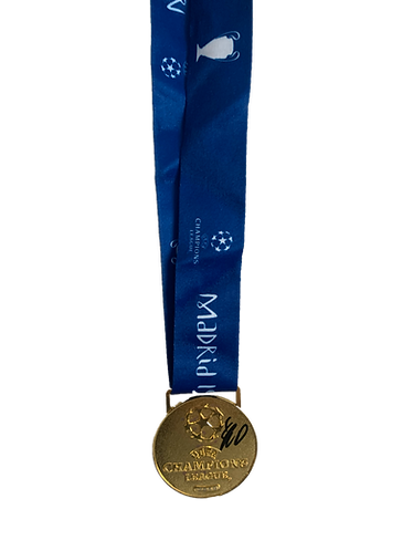 JURGEN KLOPP SIGNED 2019 CHAMPIONS LEAGUE FINAL MEDAL