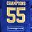 Thumbnail: RANGERS FC SQUAD SIGNED CHAMPIONS 55 SHIRT