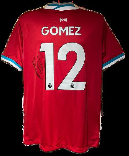 JOE GOMEZ SIGNED 2020/21 LIVERPOOL FC HOME SHIRT