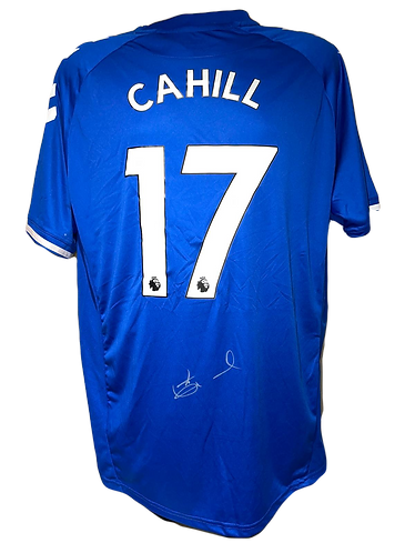 TIM CAHILL SIGNED EVERTON FC 2020/21 HOME SHIRT