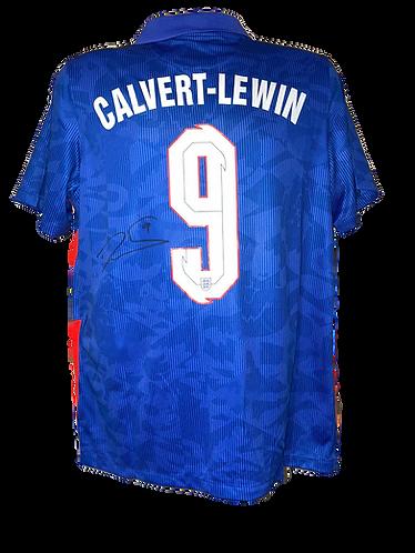 DOMINIC CALVERT-LEWIN SIGNED ENGLAND AWAY SHIRT