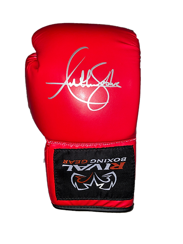 ANTHONY JOSHUA SIGNED RIVAL AUTOGRAPH GLOVE