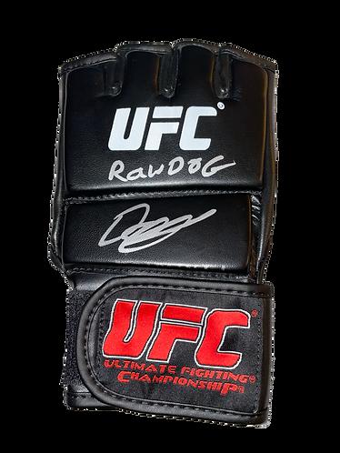 DARREN TILL THE GORILLA RAWDOG SIGNED UFC GLOVE