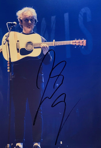 LEWIS CAPALDI SIGNED 12X8 PHOTOGRAPH