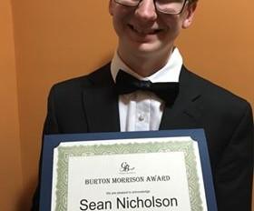 Burton Morrison Award 2019