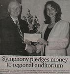 Donation for OSCVI Regional Auditorium