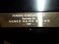 Agnes Brown, Owen Sound, Georgain Bay Symphony