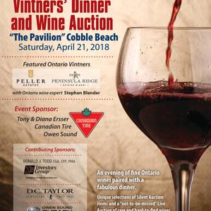 Vintners' Dinner & Wine Auction