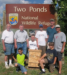 Two Ponds National Wildlife Refuge NWR - Volunteers