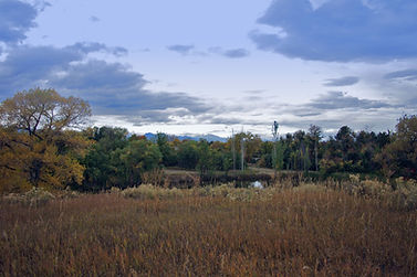 Two Ponds National Wildlife Refuge NWR - The main pond in fall