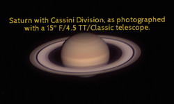 Saturn with Cassini Division