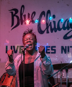 LARETHA WEATHERSBY, 2017 BLUE CHICAGO