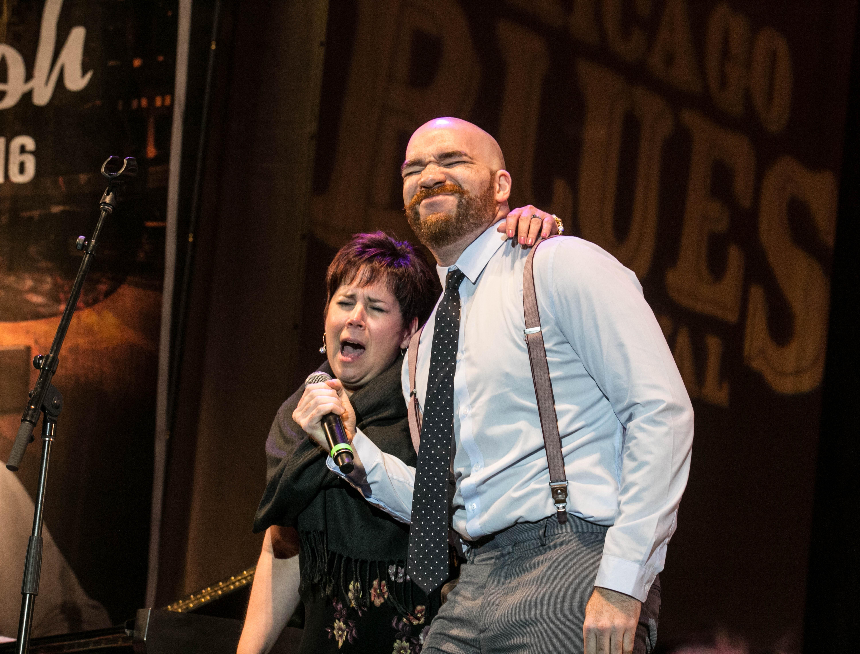 Michael Ledbetter y Diane Blue