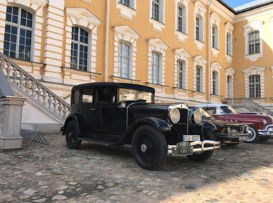 Rīga Retro 2019. Noslēgums Rundāles pilī