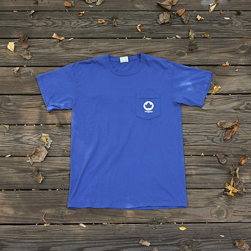The Leaf Tee (Blue)