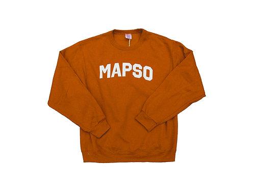 Orange Mapso Crewneck