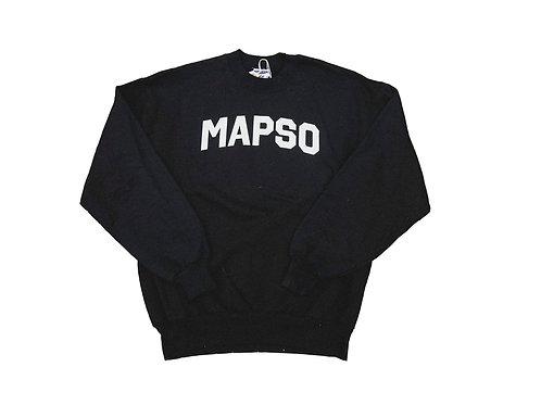 Black Mapso Crewneck