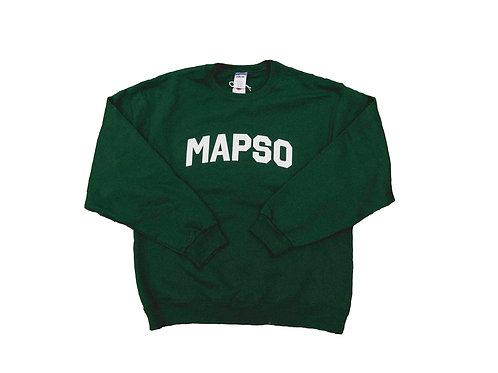 Green Mapso Crewneck