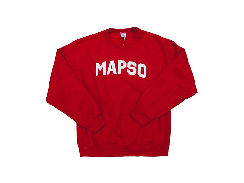 Red Mapso Crewneck