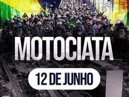 Motociata Direita Para Vencer #MDPV pró Bolsonaro