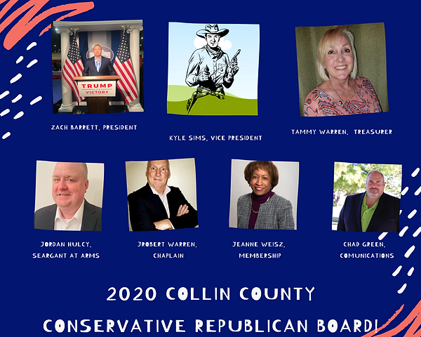2020 Collin County Conservative Board!3.