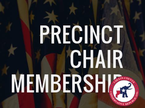 Precinct Chair Discounted Membership 1 Year