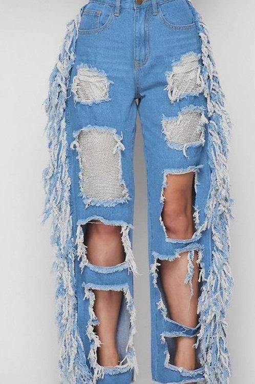 Fridge Bedazzled Jeans