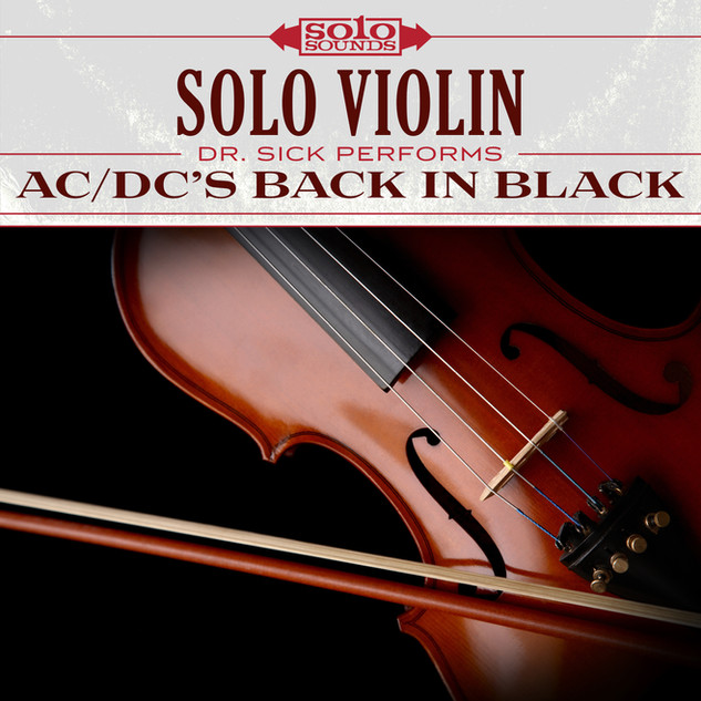 Solo Violin - AC/DC's Back in Black