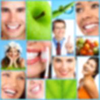 apple green teeth brusig smiling happy oral hygiene