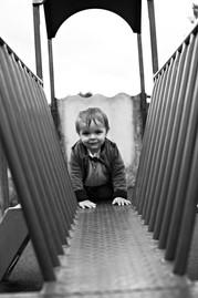 child in park