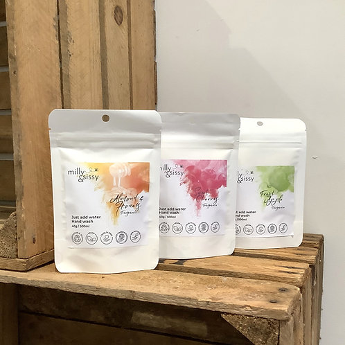 Milly & Sissy - Hand Wash Refill Pouches