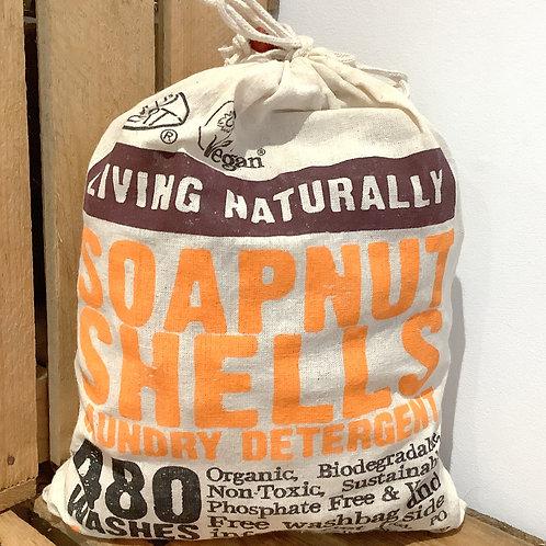 Living Naturally - Soapnut Shells 1KG