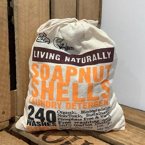 Living Naturally - Soapnut Shells 500G