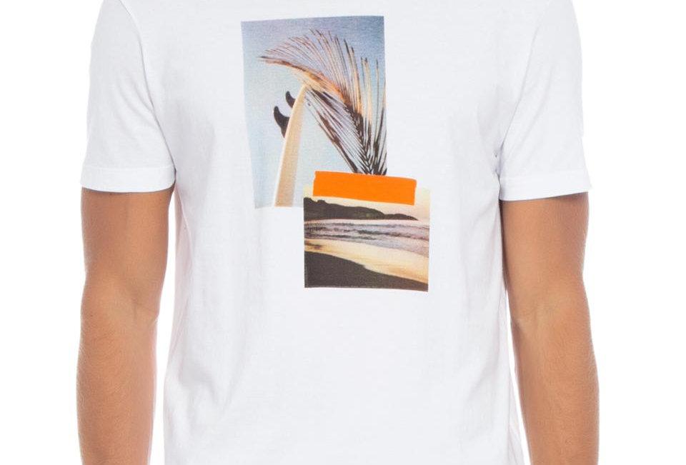 T-Shirt Stone Beach Pics Osklen