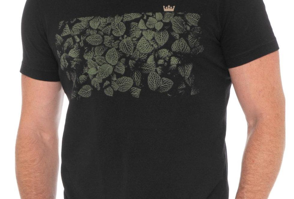 T-Shirt Vintage Folhas Osklen