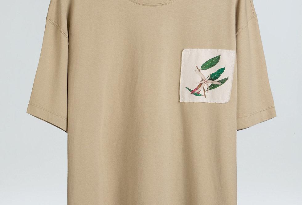 T-Shirt Osklen Pocket Cdc Flor Respect