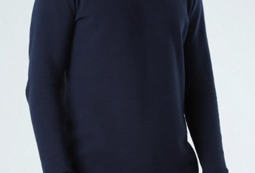 Camiseta Pima Canelado Horizontal - R.A