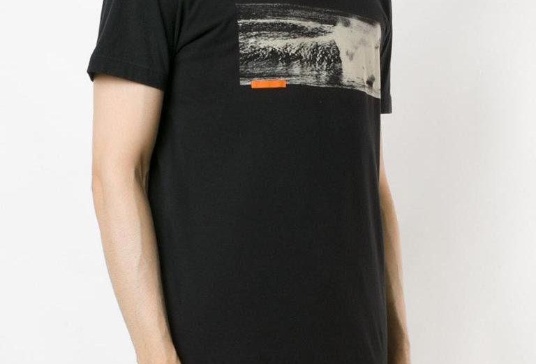 T-Shirt Osklen Vintage Blue Wave