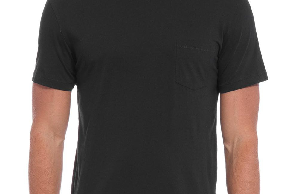 T-Shirt Pima Pocket Preto Osklen