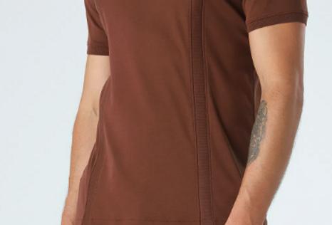 Camiseta Pima Faixa Vertical - Ricardo Almeida