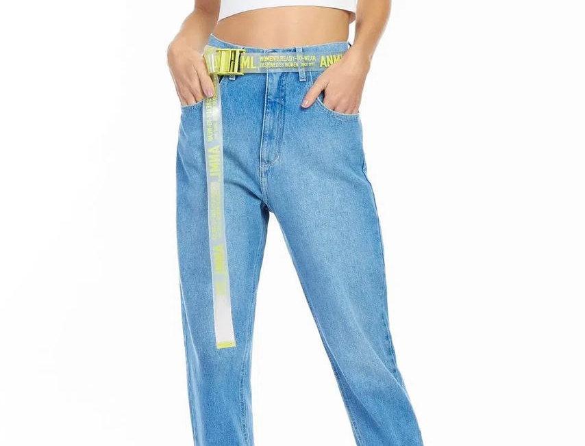 Calça Jeans Vintage Animale