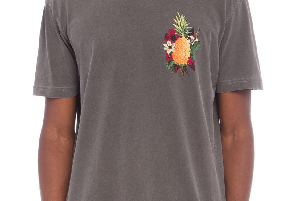 T- Shirt Stone Abacaxi Floral Osklen