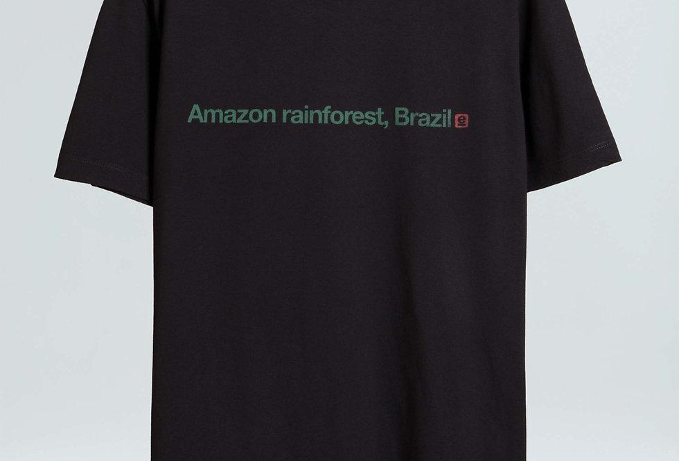 T-Shirt Vintage Amazon Rainforest Osklen