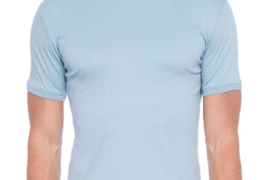 Camiseta Ricardo Almeida  - Azul Claro