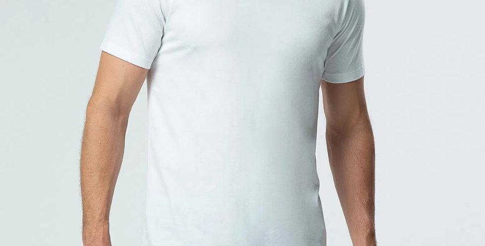 Camiseta Básica Supima Gola V Ricardo Almeida