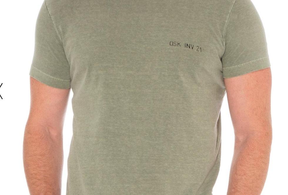 T-Shirt Verde Amazônia Osklen