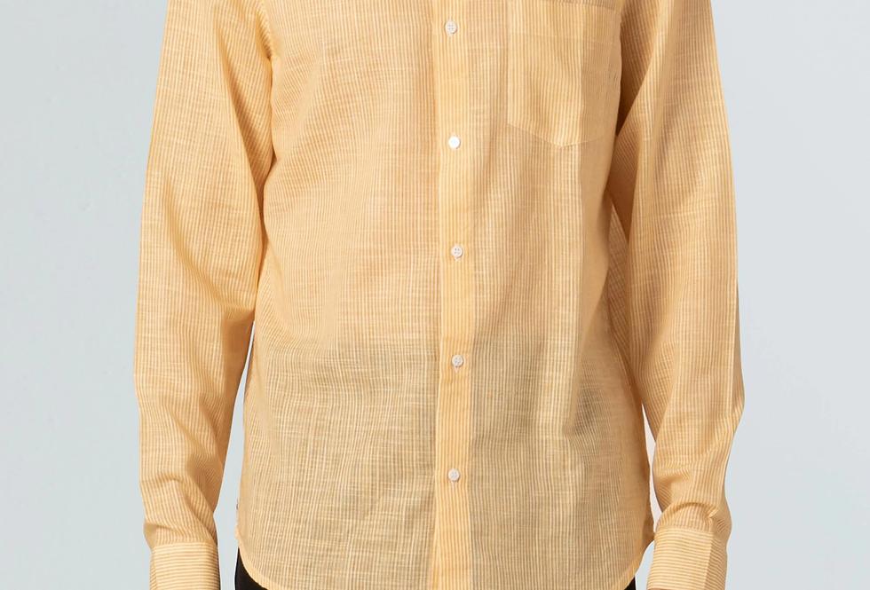 Camisa Masculina Osklen Striped Rough Ml