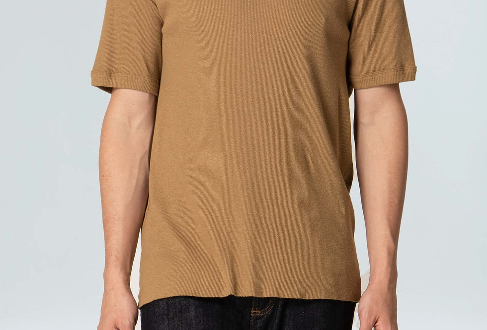 T-Shirt Osklen Used Ribbed Canhamo Mc