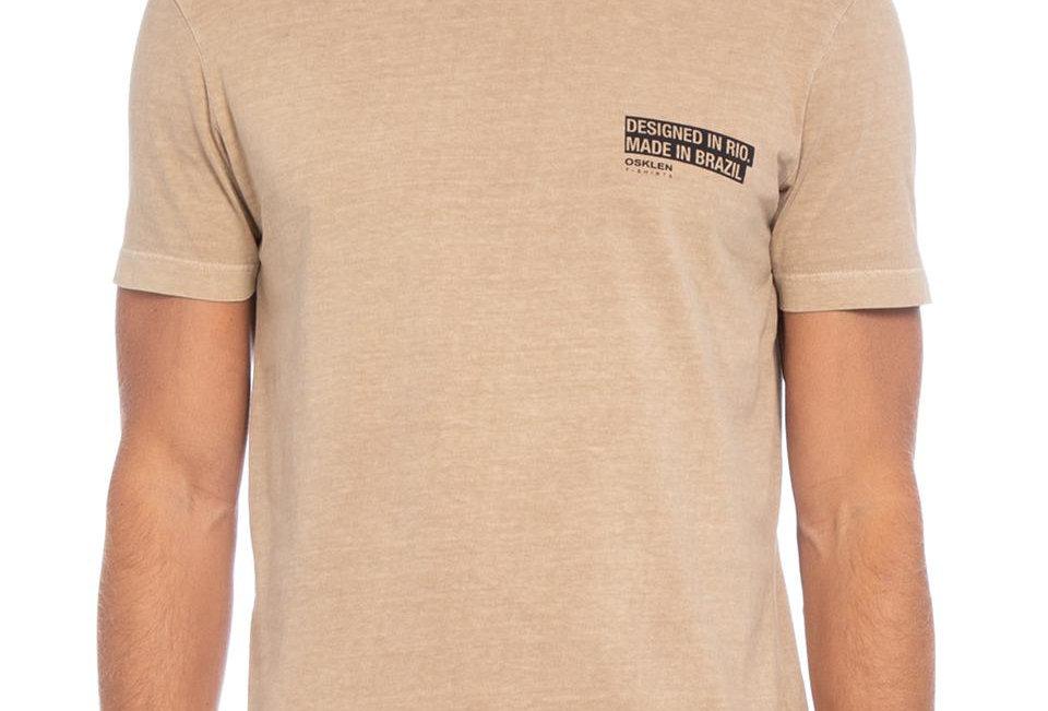 T-Shirt Stone Cotton  Osklen