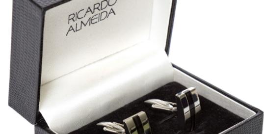Abotoaduras Ricardo Almeida em  Prata